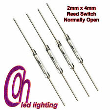 10pcs Reed Switch MagSwitch 2 x 14mm Normally Open Magnetic Induction Switch UK