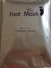 Baby Feet Foot Mask skin exfoliation 1 x pair | buyers love theses!  | free post