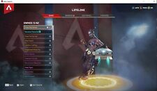 Apex legends (Pc) account  Level 147 S3,S4,S5 Battlepasse with many skins