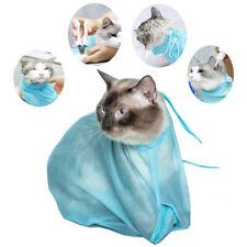 Pet Cat Mesh Bag Grooming Washing Bath Bag Mesh Bag For Shower Cleaning Puppy