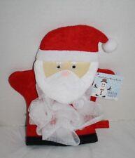 Stocking Stuffer Kids Gift Holiday Wonders Santa Claus Bath Wash Mitt Christmas