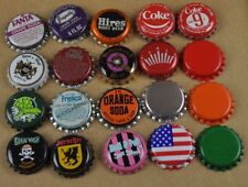 Lot mit 20 bière Coca-Cola Fanta Hires et autres SODA capsules de USA BOUTEILLE