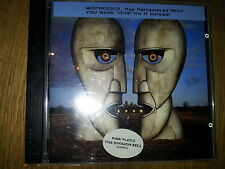 Pink Floyd The Division Bell MISPRESSED with WYWH CD album Extremely Rare