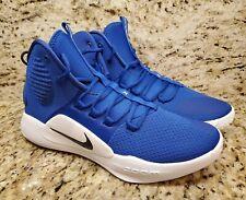Nike Hyperdunk X TB Mid Basketball Shoes AT3866-403 Rush Blue Men Size 11 NEW
