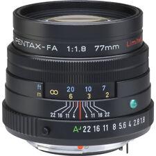 New SMC PENTAX FA 77mm F1.8 Limited Lens - Black - Auto Focus Lens  K Mount