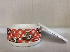 Whirley Yogi Bear Bowl With Lid Warren PA USA Picnic Kid Cereal Snack Food HTF