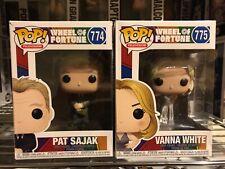 Funko - POP TV: Wheel of Fortune - Pat Sajak & Vanna White #774 #775 NIB