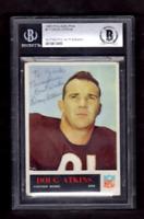 1965 Philadelphia Doug Atkins Signed Football Card-Beckett (BAS) Chicago Bears