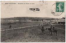 CPA 91 - PORT-AVIATION (Essonne) - 211. Aéroplanes de Voisin en course