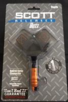 Scott Release Youth Buzz - Small Buckle Strap - Orange - 3021SBS-OG SALE SALE