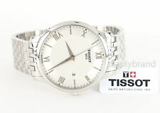 Tissot Tradition T0636101103800 Silver Dial 42mm Men's Watch - Brand New
