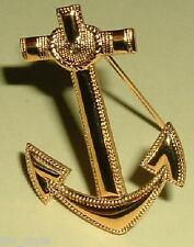 Anchor Insignia Midshipman and Aviation Cadet Garrison Cap 1970 in original box