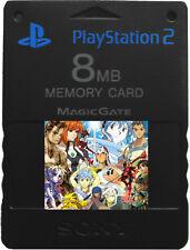 RPG MEMORY CARD SAVES PS1 2 Tales Fire Xenogears Lunar Legend Mana Chrono Ocean