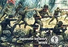 Waterloo fanteria giapponese Japanese Infantry WWII SOLDATI KIT 1:72 KIT