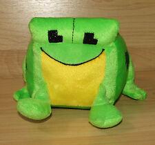 "Minecraft Inspired Frog Plush 5"" Nanco Stuffed Green 8-bit Frogger Stuffed Anima"