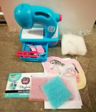 Sew N Style Cool Maker Pom Pom Maker Arts & Craft Toy Sewing Machine w/ Supplies
