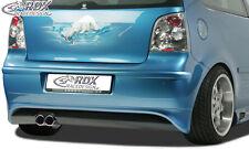 RDX Heckansatz VW Polo 9N Heck Ansatz Schürze Hinten Diffusor Hinten PUR ABS