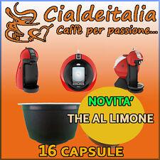 16 capsule THE AL LIMONE Cialdeitalia comp. Nescafè Dolce Gusto