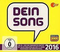 Dein Song 2016 (CD + DVD) von Various | CD | Zustand gut