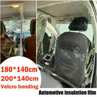 Universal Car Taxi Divider Film Isolation Partition Transparent Protective Cover