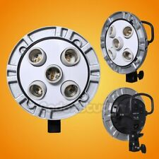 Godox TL-5 5in1 Studio E27 Socket Bulb Lamp Head Multi-Holder w/ Speedring
