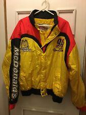 NASCAR Jacket Coat McDonald's Bill Elliott #94 Men's XL Racing