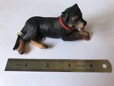 Bullyland chien plastique Figure ROTWEILER Fiona neuf avec étiquette
