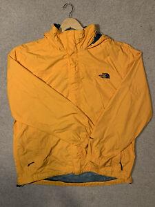 The North Face Windbreaker Jacket Orange Mens Large Shell HyVent