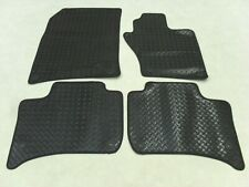 VW Touareg 2010-17 Fully Tailored Deluxe RUBBER Car Mats in Black