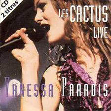 CD Single Vanessa PARADIS Les cactus 2-TRACK CARD SLEEVE NEW SEALED