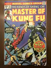 MASTER OF KUNG FU #36 Marvel Comics (1976) HIGH GRADE BRONZE AGE!!