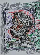 Jean Paul Riopelle Original Lithograph Derriere Le Miroir V First Edition 1976