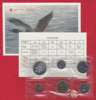 1990 - - Pl Set - - Canada RCM Proof Like Mint - With COA and Envelope SALE