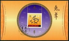 Canada year of Rabbit first day cover FDC
