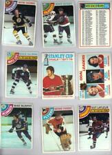 1978-79 Topps Hockey Almost Complete Set (263/264) NRMT Needs Dryden #50