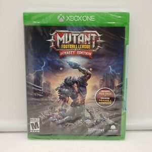 Mutant Football League: Dynasty Edition (Microsoft Xbox One, 2018) NEW/SEALED!