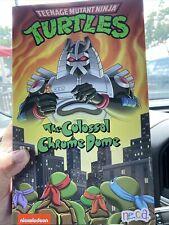 NECA Teenage Mutant Ninja Turtles TMNT The Colossal Chrome Dome New Sealed