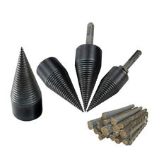 Firewood Splitter Machine Drill Bit Wood Cone Reamer Punch Driver Drill Bit Kit