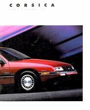 1988 Chevrolet Corsica 20-page Original Car Sales Brochure Catalog
