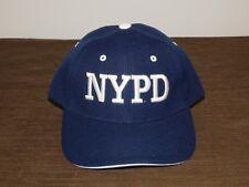 POLICE BASEBALL CAP HAT  NYPD NEW YORK CITY POLICE DEPT NEW UNUSED
