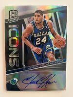 2018-19 NBA Panini Spectra Jim Jackson Icons Auto /75 Dallas Mavericks