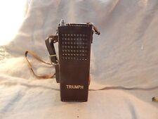 Vintage Triumph TC-900 9 Transistor Radio with Case