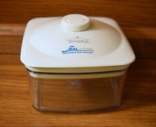 RIVAL SEAL-A-MEAL VACUUM SEALER SQUARE CANISTER WITH LID 5 x 5 x 3""