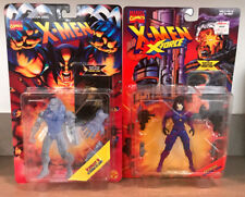 X Men Domino & Iceman II Action Figures MOC TOY BIZ 1995-1996