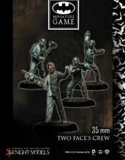 Two FACE Crew 35mm Batman miniature GAME Knight Models skirmish Tabletop