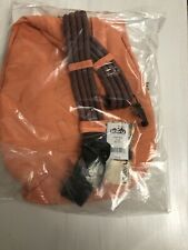 NEW KAVU Rope Bag Cotton Shoulder Sling Backpack CORAL 923-57, 50$ MSRP