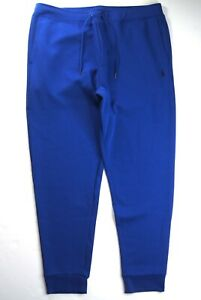 POLO RALPH LAUREN Men's Classic Fit Royal Blue Double Knit Jogger Pant NEW NWT