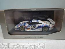 Minichamps : PORSCHE 993 GT1 - 1996 24 Uur Le Mans - WAP02004797