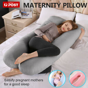 U-shape Maternity Pillow Pregnancy Nursing Sleeping Body Support Feed Multi