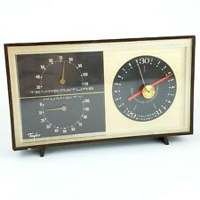 Taylor Instruments Temperature Humidity Barometer Weather Station Vintage 1960s